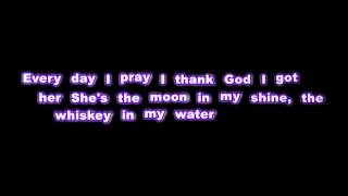 Tyler Farr - Whiskey In My Water - Lyrics
