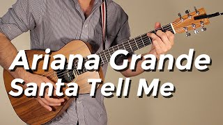 Ariana Grande - Santa Tell Me (Guitar Tutorial/Lesson) by Shawn Parrotte