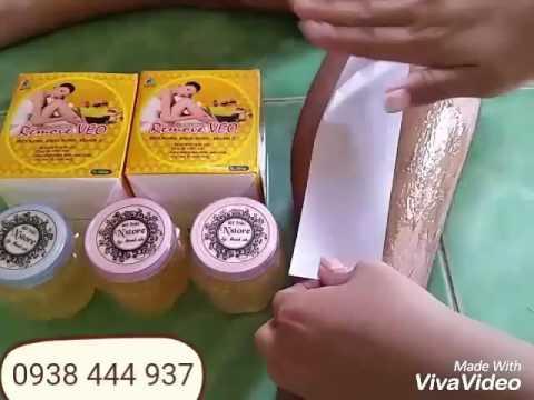 Hướng dẫn wax tẩy lông nách, chân, tay, vùng kín, mặt, cực dễ tại nhà hết vĩnh viễn