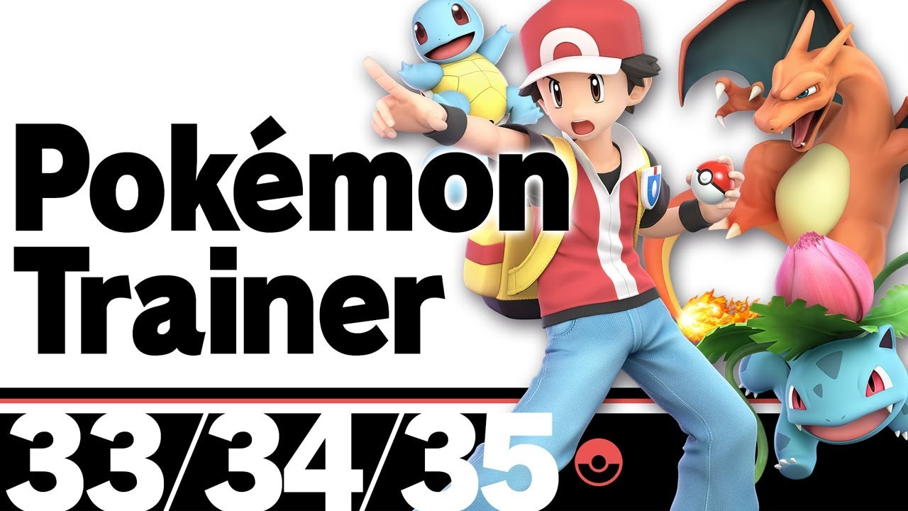 The Ultimate Super Smash Bros  Character Guide: Pokemon Trainer