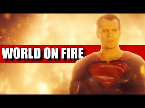 DC Extended Universe (DCEU) || World On Fire
