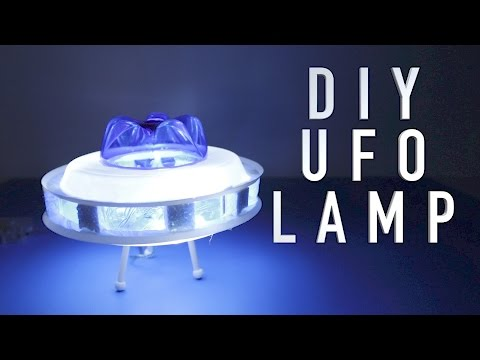 How To Make A Cool Flying Saucer | DIY UFO Projects  | Plastic Bottle Craft Ideas