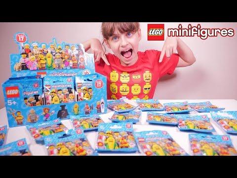 LEGO SERIE 17 CHALLENGE • Série 17 complète Lego Minifigures - Studio Bubble Tea Lego full review