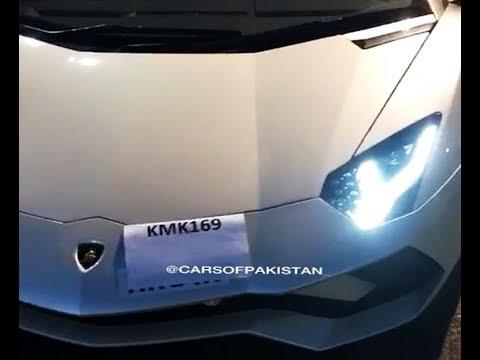 KMK's Aventador S final checkups before shipping