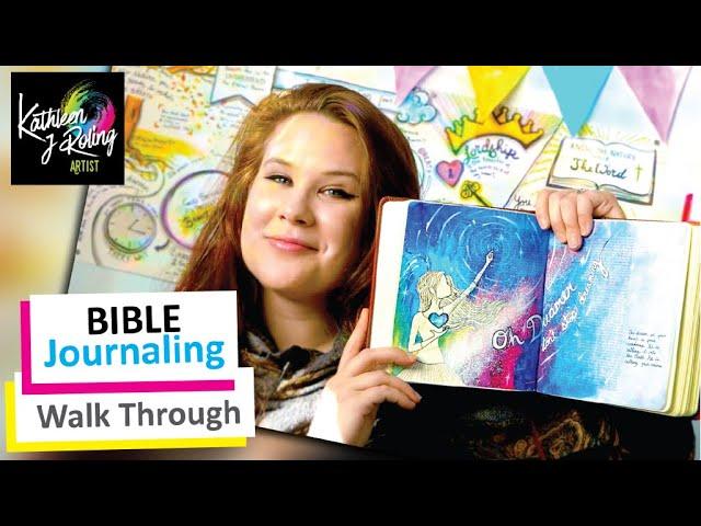Bible Journaling Walk Through