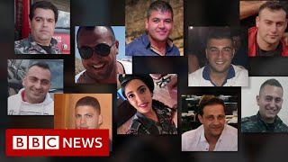 Beirut explosion: The story of Platoon Five - BBC News