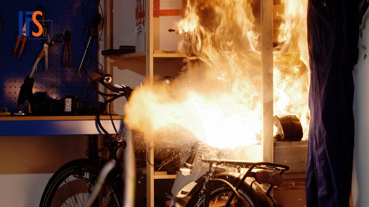 e bike batterie explodiert