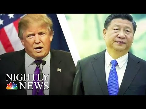 U.S. Relations With China Grow Tepid Amid North Korea Crisis | NBC Nightly News