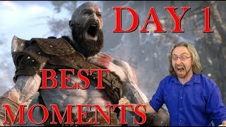 Max plays GOD OF WAR (Day 1 Compilation by RagenGaming)