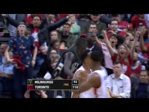 Milwaukee Bucks at Toronto Raptors - April 24, 2017