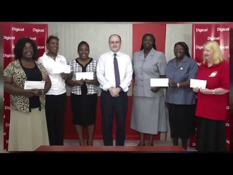 Digicel Grenada Gives $12,000 to Charity