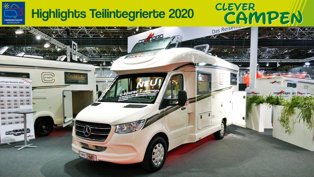 Alles neu: 9 Highlights der Teilintegrierten auf dem Caravan Salon  Düsseldorf 9 Clever Campen