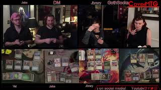 Women's Magic the Gathering - EDH. Live!