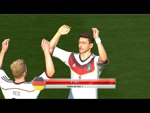 Pronostico de la Final: Alemania vs Argentina PES 2014 Computer - Mundial Brasil 2014
