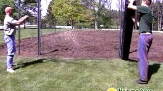 DIY Vegetable Garden Fence Installation - Step 1 | Jaguar Fence