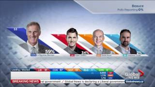 Federal Election 2015: Tom Mulcair Trailing In His Home Riding As Early Quebec Results Come In