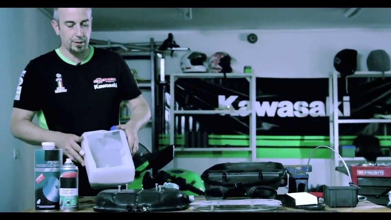 Kawasaki Zrób To Sam Filtry Powietrza Youtube