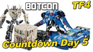 Transformers AOE at BotCon 2014 - [TF4 Countdown Day 5]