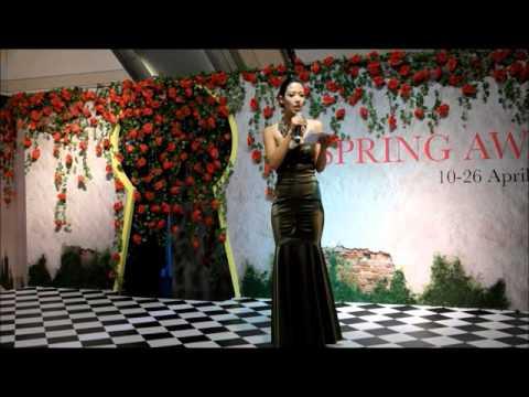 Vanessa Vanderstraaten   Raffles City Spring Awakens