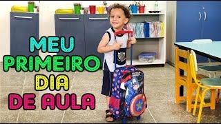 PRIMEIRO DIA DE AULA CADU