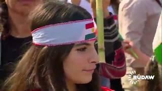 Kürtler dünyanın dört bir yanında meydanlarda