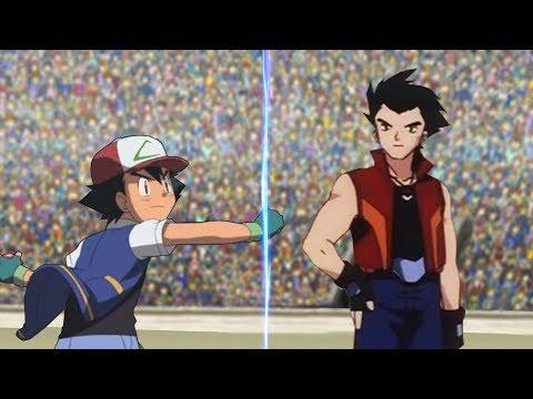 Pokémon Battle USUM: Kanto Ash Vs Drake (Orange League)