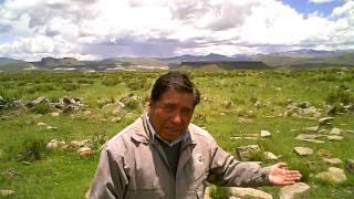 CHAMAN AYMARA*EN CERRO CUTIMBO*PUNO*PERÚ