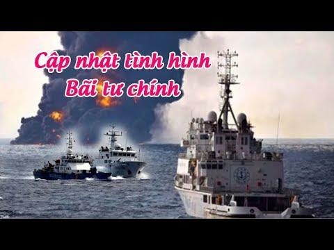 Cập nhật tình hình chiến sự tại Bãi Tư Chính – Biển Đông