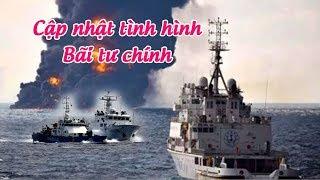 Cập nhật tình hình chiến sự tại Bãi Tư Chính – Biển Đông !