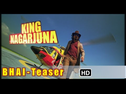 Bhai Official First Look Teaser | Telugu Movie | Nagarjuna,Richa,Veerabhadram