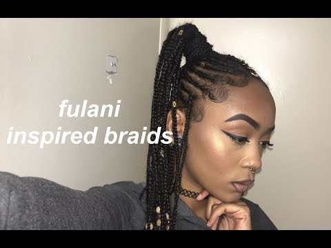 FULANI INSPIRED BRAIDS