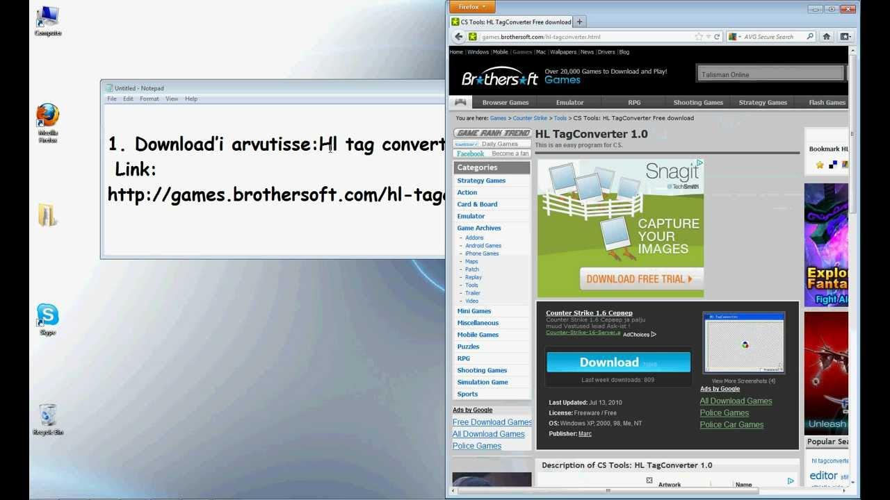 Hl tag converter full free download   counter strike 1. 6 hacks s.