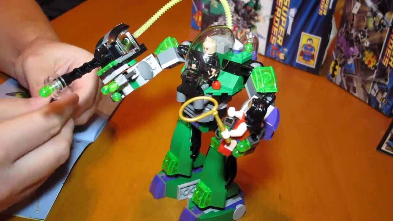 Lego 6862: Superman vs. Power Armour Lex - YouTube