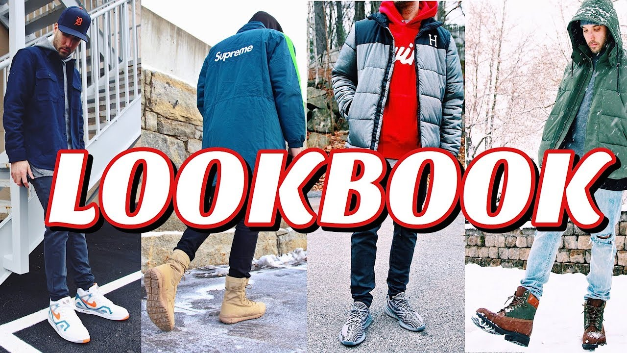 WINTER LOOKBOOK - HOW TO STYLE WINTER OUTFITS - MEN'S FASHION 1