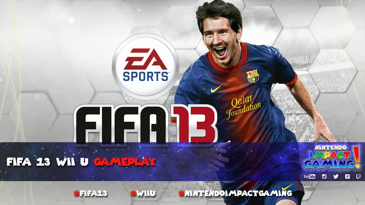 fifa 13 wii u gameplay youtube rh youtube com FIFA 14 Wii U FIFA 13 Wii U Cover