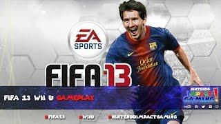 FIFA 13 Wii U Gameplay