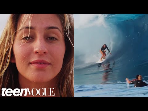 World-Famous Surfer Frankie Harrer Shows Us A Day in Her Life