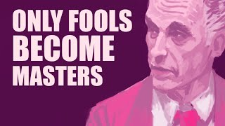 Only Fools Become Masters - Dr. Jordan Peterson - Timelapse Painting - 2020