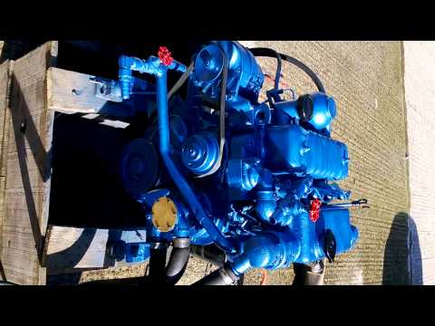 Perkins 4108 - 50 HP - Hurth HBW 10 - Diesel Engine - Plovila Mlakar