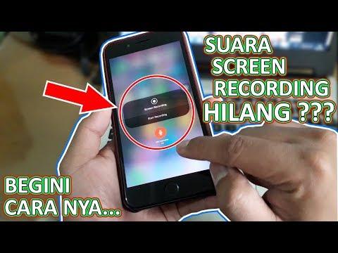 "SHARING#64 ""Cara Mengaktifkan Suara Screen Recording iPhone"" | Suara nya Hilang???"