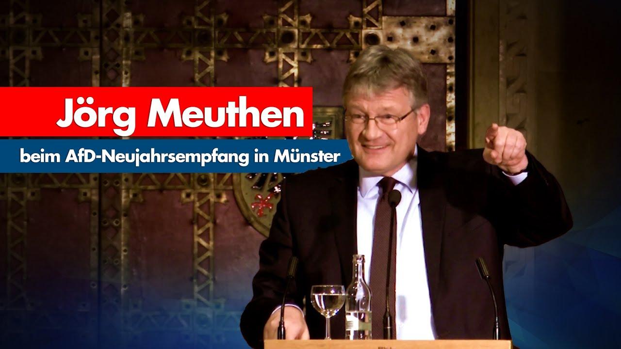 Jörg Meuthen   AfD-Neujahrsempfang in Münster