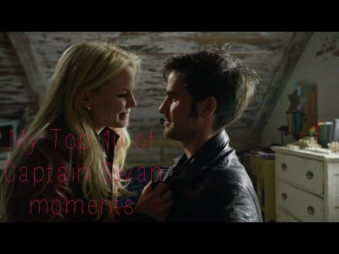 My top 10 of Captain Swan (Emma & Hook) moments - Once Upon A Time