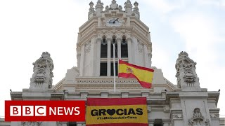 Coronavirus: Spain extended the state of emergency until at least 12 April - BBC News