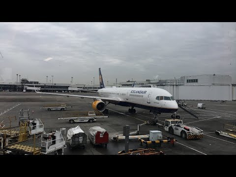 TRIPREPORT | Economy Comfort | Icelandair Glasgow to Reykjavik | Boeing 757