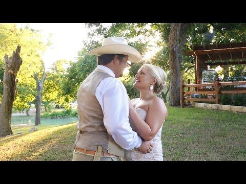Randi + Hunter's Wedding Highlight - Zedler Mill - Luling, Texas