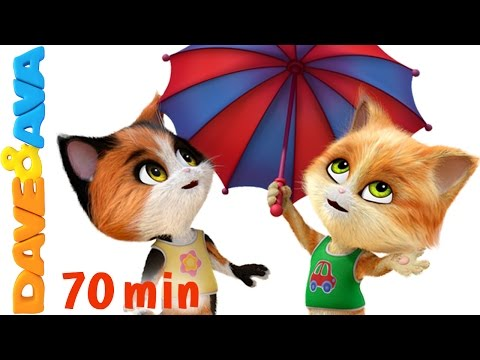 Thumbnail: 🌤️ Rain Rain Go Away Song and More Nursery Rhymes and Kids Songs from Dave and Ava 🌤️
