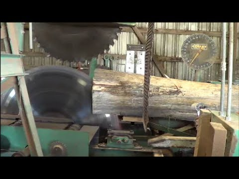 Table Rock Lumber, Last log sawed at a 40+ year old sawmill