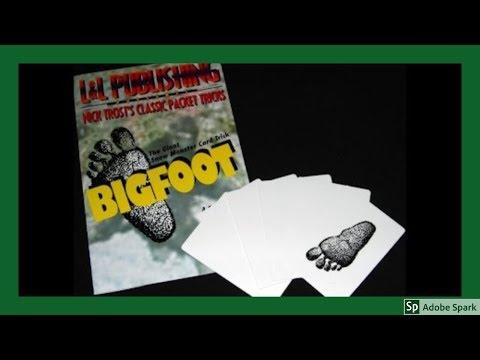 ONLINE MAGIC TRICKS TAMIL I ONLINE TAMIL MAGIC #18 I Bigfoot @MagicVijay