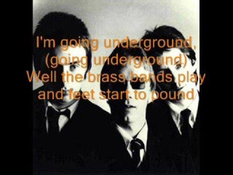 The Jam-Going Underground [LYRICS!]