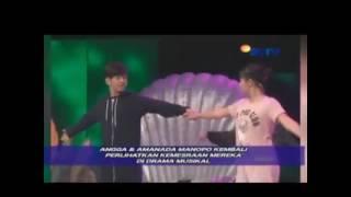 Angga Aldi Yunanda & Amanda Manopo Latihan Drama Jelang Malam Puncak SCTV AWARDS 2016